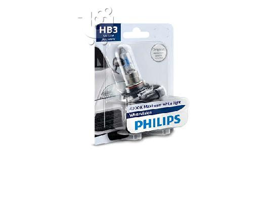 PoulaTo: Λάμπες Philips White Vision HB3 9005 4300K 65W