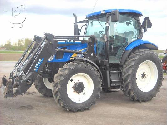 PoulaTo: 2007 New Holland TS 110 A PLUS