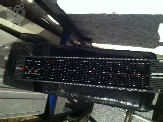 GRAPHIC EQUALIZER AQ 130A