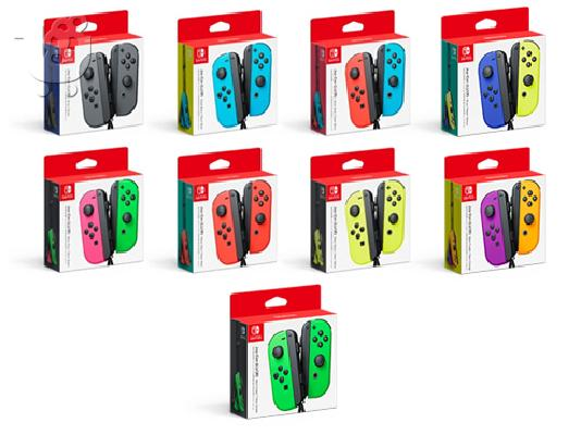 Nintendo Switch – Neon Red and Neon Blue Joy-Con - HAC 001 Mar 3, 2017