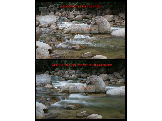 55mm Neutral Density ND2 + ND4 + ND8 Filter