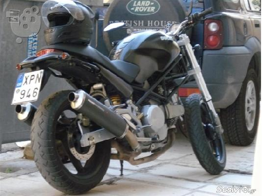 PoulaTo: DUCATI M 600,Dark,City '02
