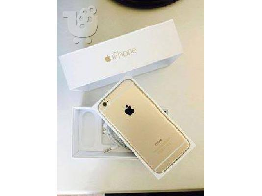 PoulaTo: Apple iPhone 6 Plus 128GB White, 24K Gold Plated