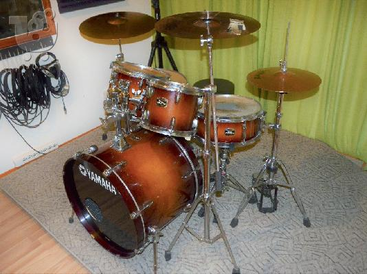 PoulaTo: Drums Yamaha Tour Custom