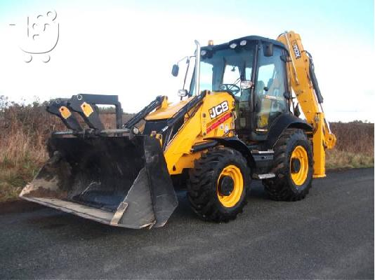 PoulaTo: 2012 JCB 3CX Contractor Easy Control