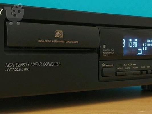 PoulaTo: Sony CDP-397 Single Disc CD Player