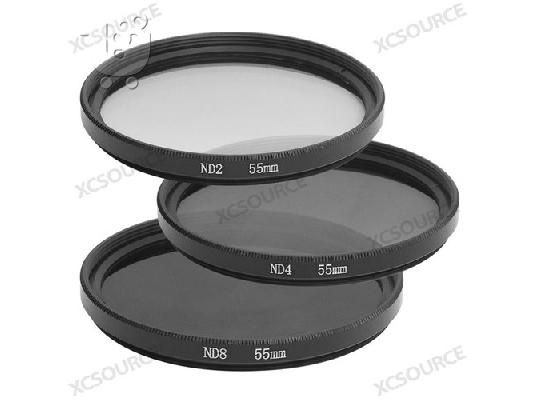 PoulaTo: 55mm Neutral Density ND2 + ND4 + ND8 Filter