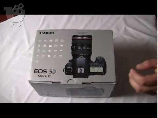 PoulaTo: Canon - EOS 5D Mark III DSLR Camera with 24-105mm f/4L IS Lens - Black