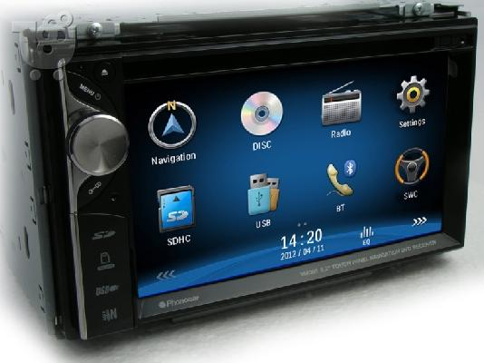 PoulaTo: Οθόνη 2-DIN 6.2inch VM 056 GPS/BT/CD/DVD/USB/SD