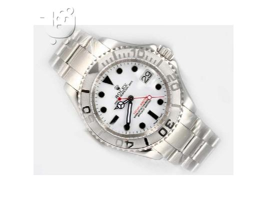ROLEX YACHTMASTER WHITE AUTOMATIC