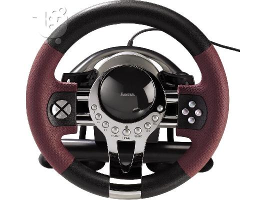 HAMA Thunder V5 Racing τιμονιέρα για PC, PS3
