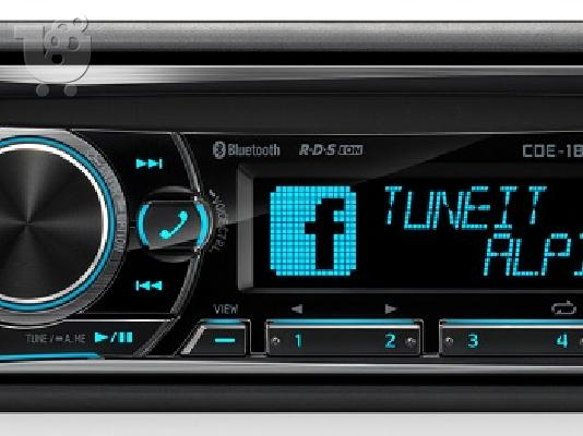 PoulaTo: Radio CD MP3 USB Bluetooth Alpine CDE-185BT