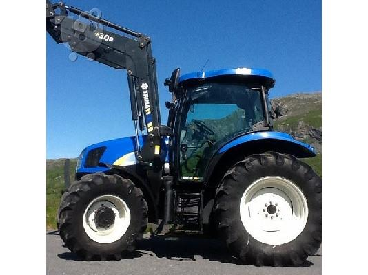 PoulaTo: 2007 New Holland TS-110A