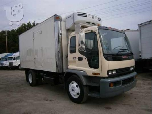 GMC TF7B042 BOX TRUCK - STRAIGHT TRUCK