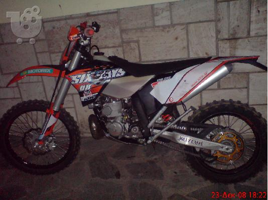 PoulaTo: KTM 250 EXC, Six Days '09