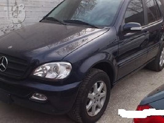 PoulaTo: MERCEDES ML 350 '02