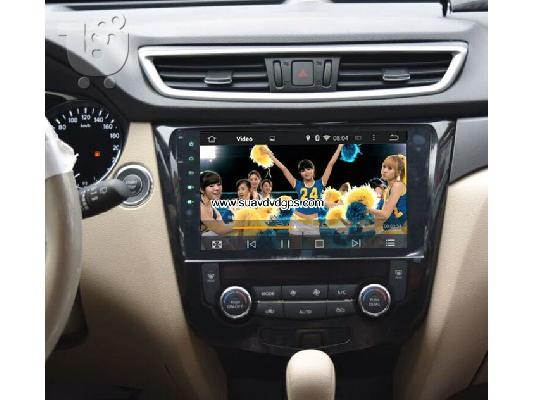 PoulaTo: Nissan Qashqai car radio android wifi gps navigation 3G Apple CarPlay DAB+