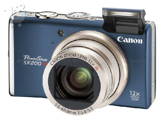 PoulaTo: Canon sx 200 is