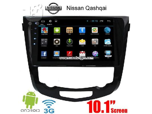 Nissan Qashqai car radio android wifi gps navigation 3G Apple CarPlay DAB+