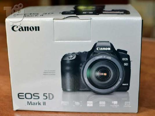 PoulaTo: Canon EOS 5D Mark II 21.1 MP Digital SLR Camera - Black (Kit)