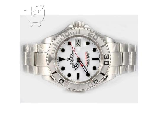 PoulaTo: ROLEX YACHTMASTER WHITE AUTOMATIC