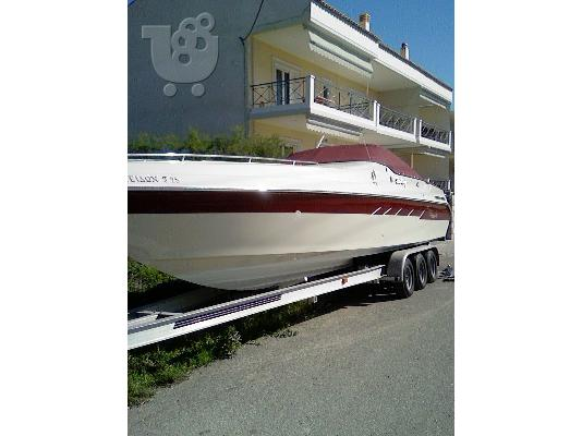 PoulaTo: SeaRay Pachanga 32, 2x Mercruiser 496 HO