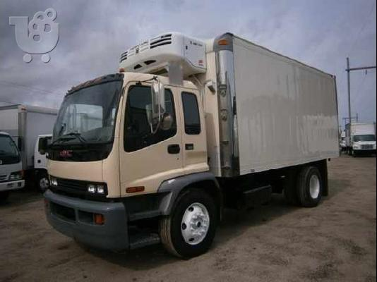 PoulaTo: GMC TF7B042 BOX TRUCK - STRAIGHT TRUCK