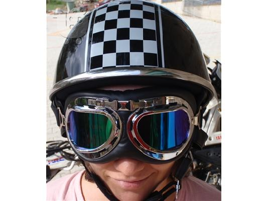 AVEX  HELMET -  -  Half Rally Replica!