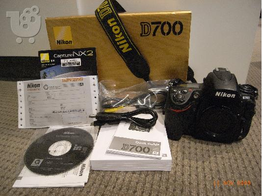 PoulaTo: Brand new Nikon D700 body shutter count: 6586 mint+++ hard to find WOW!