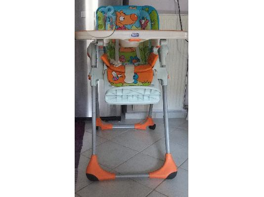 "PoulaTo: ΚΑΡΕΚΛΑΚΙ ΦΑΓΗΤΟΥ ""CHICCO POLLY 2 IN 1 HIGH CHAIR"""