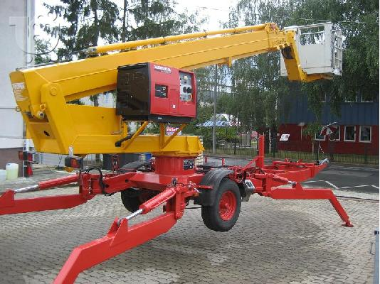 TEUPEN LEO 25 T Rent   & GEPART 22 T Rent